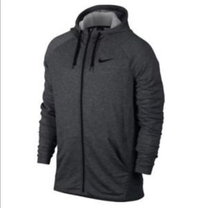 LARGE NIKE FULL ZIP FLEECE HOODIE MEN NWT